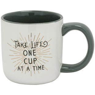 One Cup at a Time Latte Mug