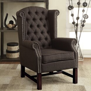 McKew Wingback Chair by Dar by Home Co