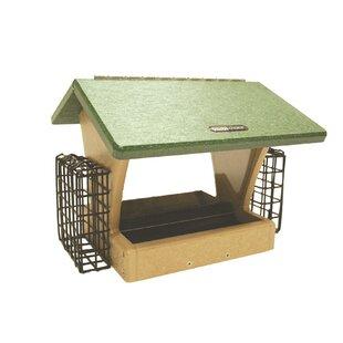 Birds Choice 4 Quart 2-Sided Recycled Suet Bird Feeder