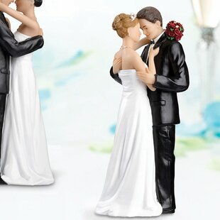 41e3412ee4 Wedding Cake Toppers You'll Love | Wayfair