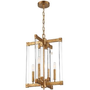 Varaluz Halcyon 4-Light Geometric Chandelier