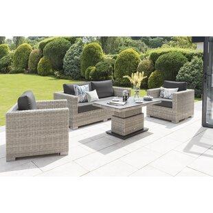 Cheap Price Brookings 5 Seater Rattan Sofa Set