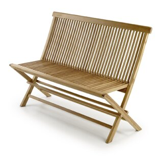 Goodland Snick Teak Bench By Beachcrest Home