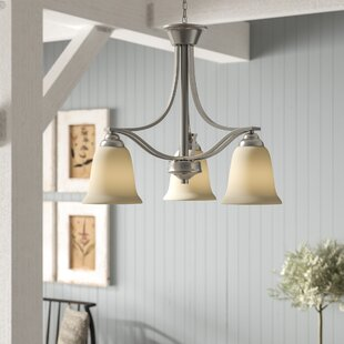 Hullinger 3-Light Shaded Chandelier by Laurel Foundry Modern Farmhouse