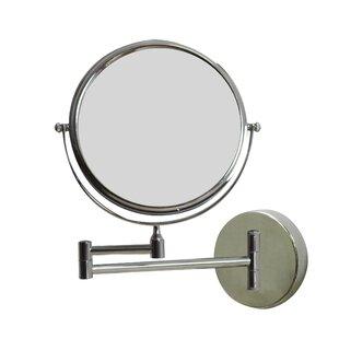 Reviews Round Brass-Mirror Wall Mount Magnifying Wall Mirror ByRoyal Purple Bath Kitchen