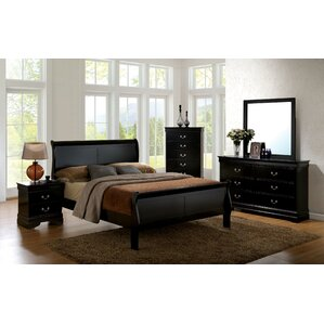 Alvarez Sleigh Bed by Darby Home Co