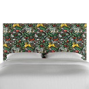 Bolden Nail Button Border Upholstered Wood Panel Headboard by Bungalow Rose