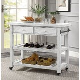 Montgomery Kitchen Cart by August Grove®