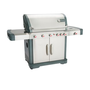 Avalon 5-Burner Convertible Gas Grill With Side Burner By Landmann