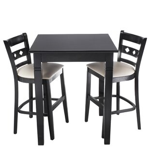 Ewell 3 Piece Counter Height Pub Table Set Red Barrel Studio
