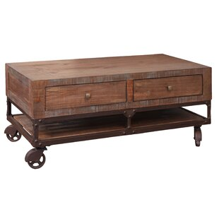 Robins Coffee Table with 4 Drawer