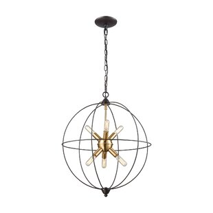 Mercury Row Cogdill 6-Light Globe Pendant