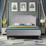 Schenck Tufted Bed by Alcott Hill®