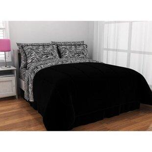 Kaczmarek Zebra Comforter Set
