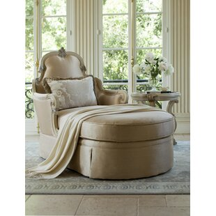 Michael Amini Platine De Royale Chaise Lounge