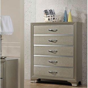 Ireland 5 Drawer Standard Dresser/Chest