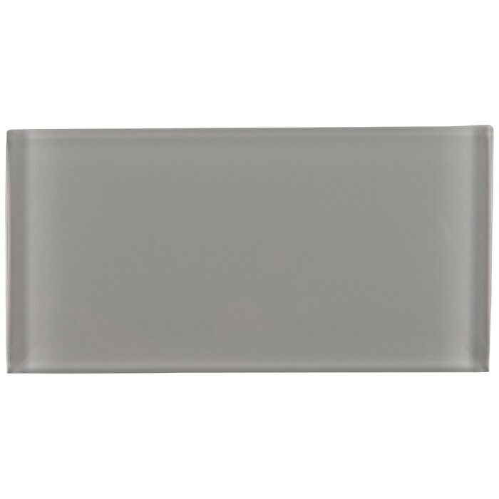 Oyster 3 X 6 Gl Subway Tile In Gray