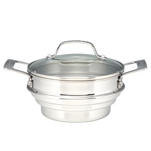 Stainless Steel Steamer with Lid