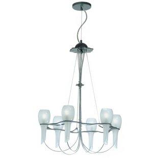 Zanin Lighting Inc. Pavia 6-Light Shaded Chandelier