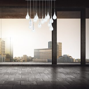 Leen 14-Light Cluster Pendant by Orren Ellis