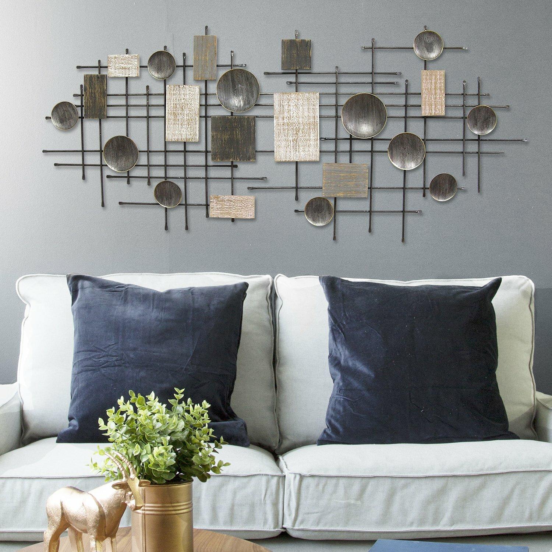 Corrigan Studio Large Modern Industrial Wall Decor Reviews Wayfair