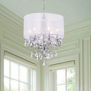 Beau Feldspar 6 Light Chandelier
