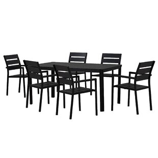 Loewen Modern Contemporary 7 Piece Dining Set
