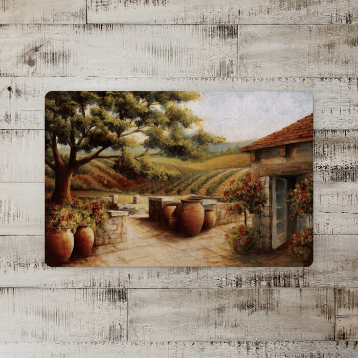 Morton Painted Tuscan Kitchen Mat