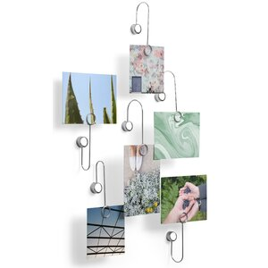 6 Piece Phantom Photoclip Adhesive Picture Frame Set