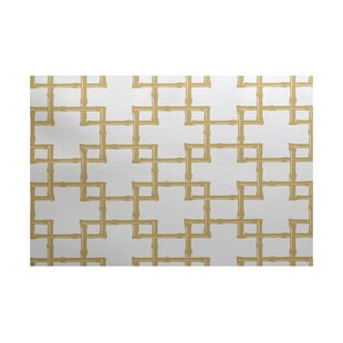 Connelly Gold Indoor/Outdoor Area Rug