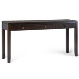 60 Solid Wood Console Table by Alcott Hill®