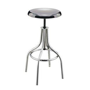 Ebern Designs Groce Adjustable Height Bar Stool