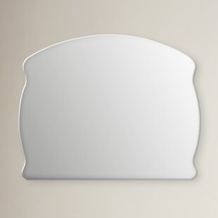 Compare prices Verla Frameless Wall Mirror By Rosdorf Park