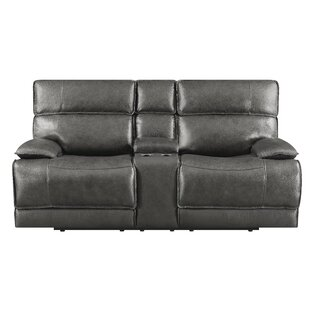 Nichol Reclining Loveseat by Red Barrel S..