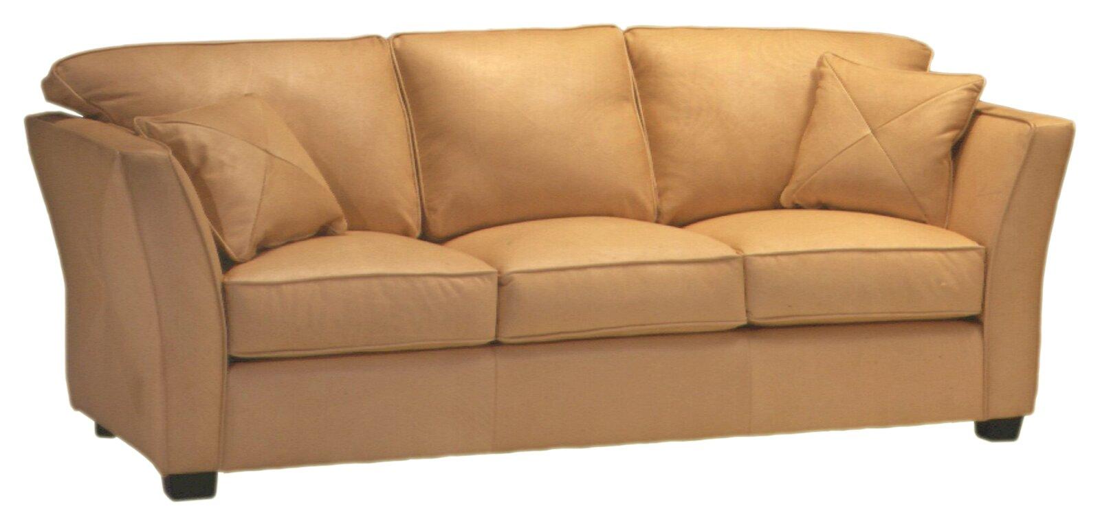 Default nameOmnia Leather Manhattan 3 Seat Leather Living Room Set   Reviews  . Orange Leather Living Room Set. Home Design Ideas