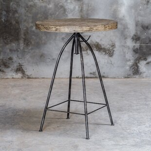 Mariah Adjustable Pub Table by 17 Stories Best Design
