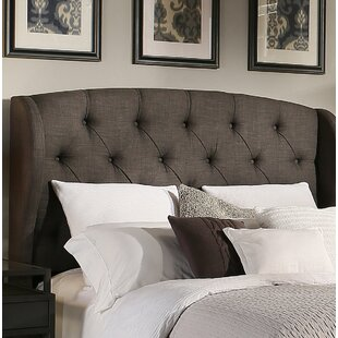 Look for Sornson Upholstered Wingback Headboard by Darby Home Co