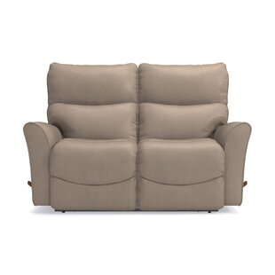 Purchase Rowan Leather Reclining Loveseat by La-Z-Boy Reviews (2019) & Buyer's Guide
