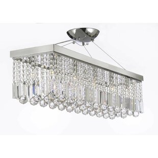 Everly Quinn Antoninus 10-Light Crystal Chandelier