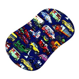 Vehicles Galore Fitted Bassinet Sheet BySheetworld