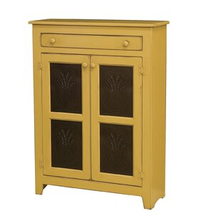 Friedrick 1 Drawer Wood Accent Cabinet by August Grove