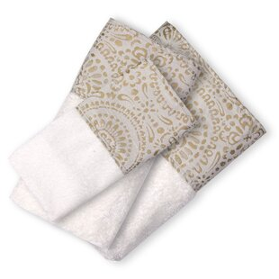 Bert 3 Piece 100% Cotton Towel Set