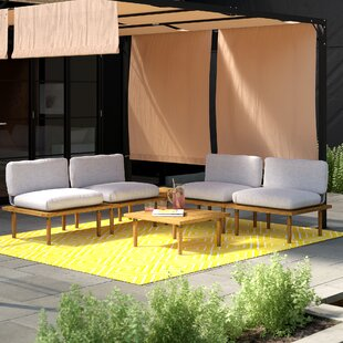 Bulwell 4 Seater Sofa Set By Sol 72 Outdoor