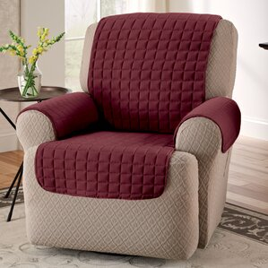 Box Cushion Armchair Slipcover & Recliner Slipcovers Youu0027ll Love | Wayfair islam-shia.org