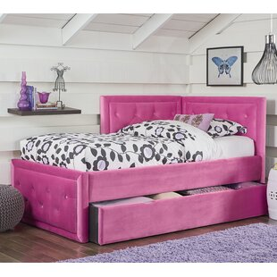 Find for Kristy Twin Platform Bed with Trundle by Harriet Bee Reviews (2019) & Buyer's Guide
