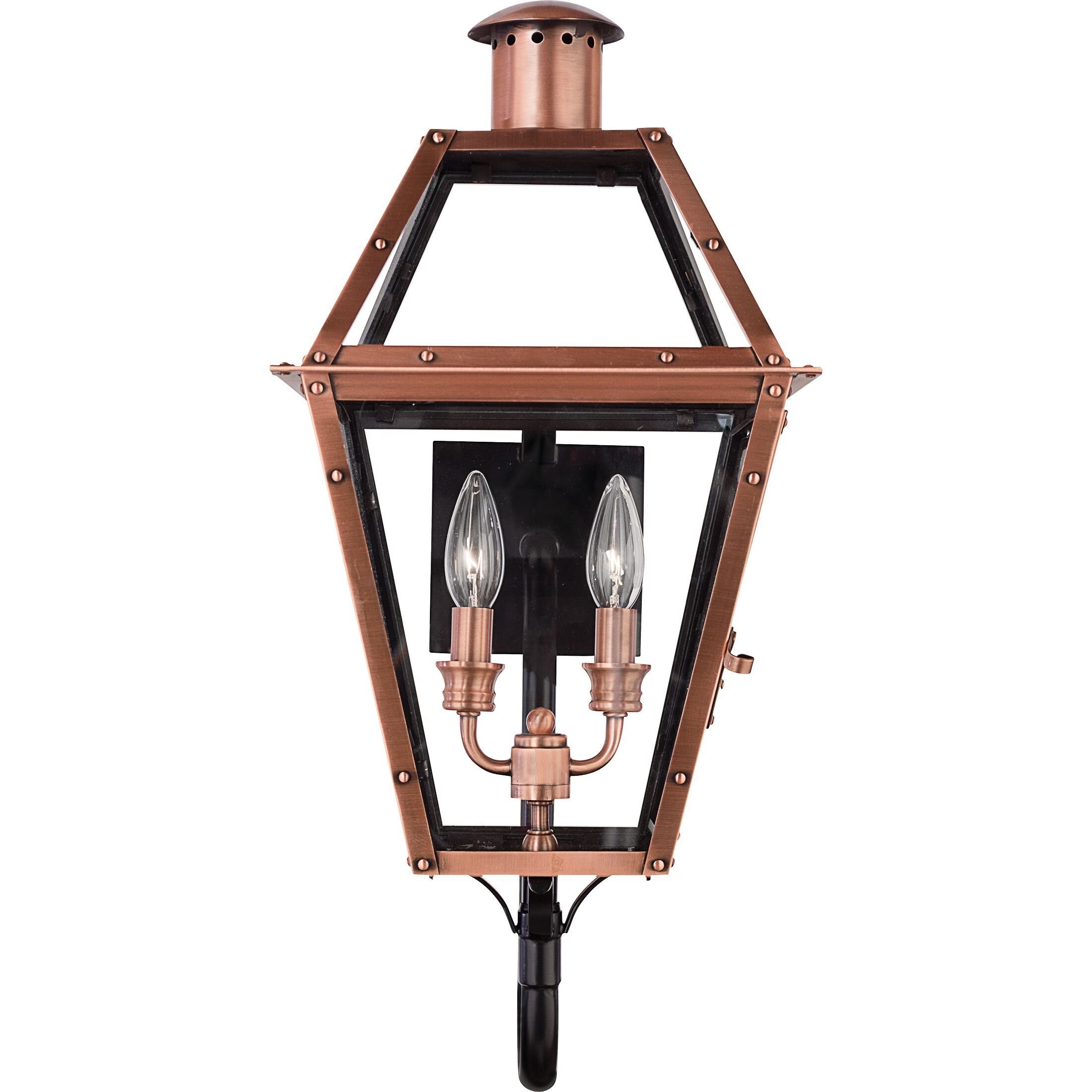 2 Light Copper Outdoor Wall Lighting You Ll Love In 2021 Wayfair