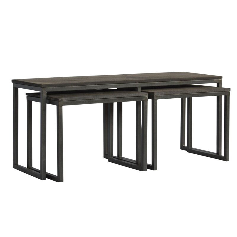 17 Stories  Begum 3 Piece Coffee Table Set