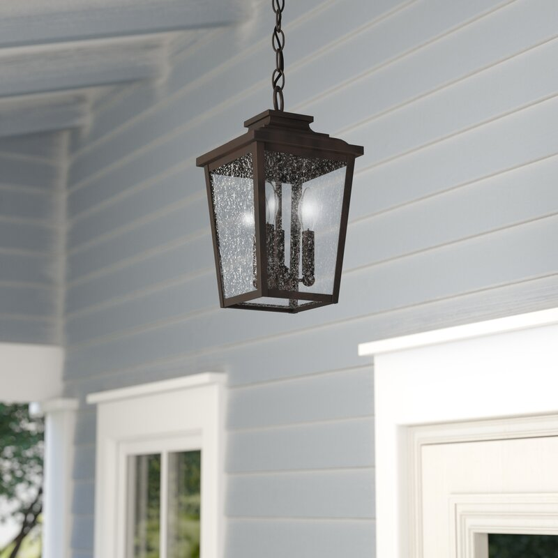 Three Posts Mayhugh 3 Light Outdoor Hanging Lantern