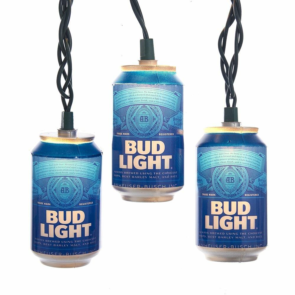 Kurt Adler Budweiser Beer Can New Logo