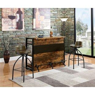 Forontenac Bar Set by Millwood Pines